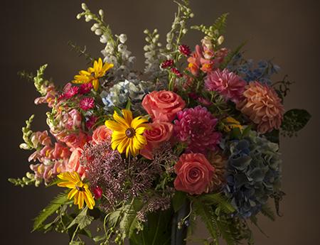 Sympathy Flowers Vibrant