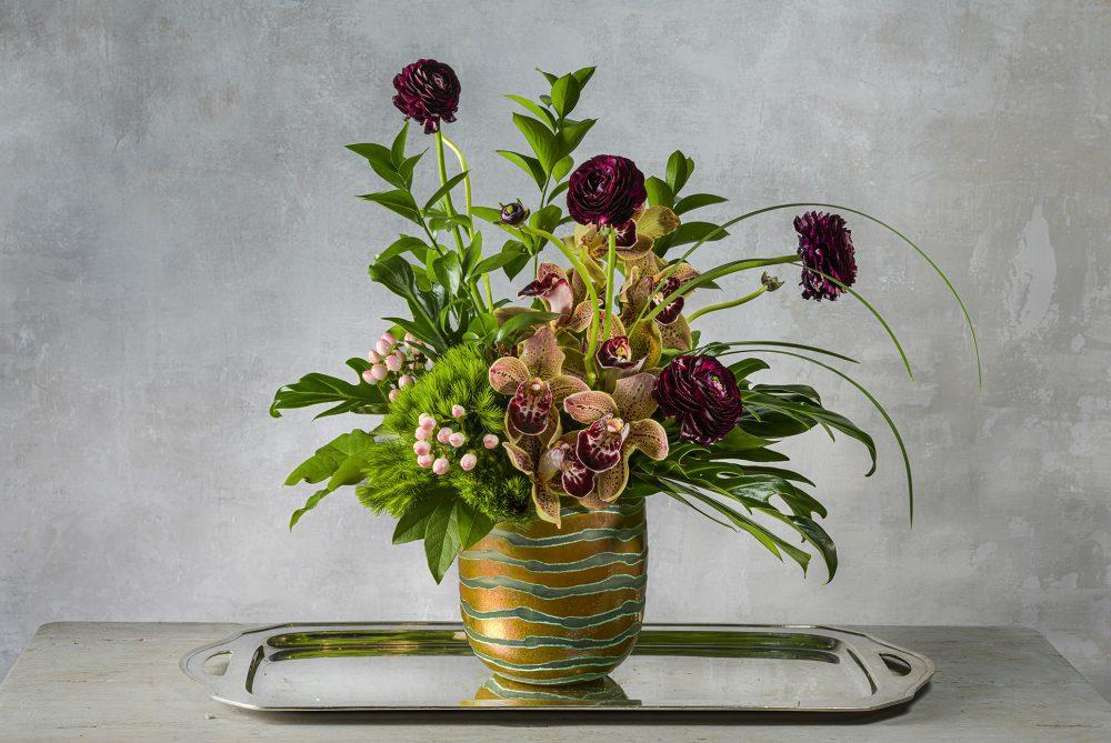 elegant-orchid-spring-fresh-flower-arrangement-tropical