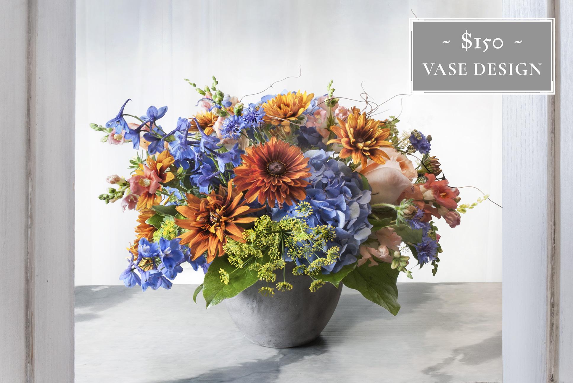 Flower Subscription Vase $150